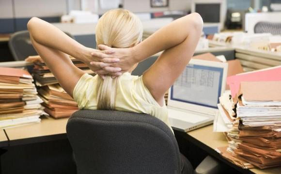 Exercícios à Secretária – Relaxamento e Alívio
